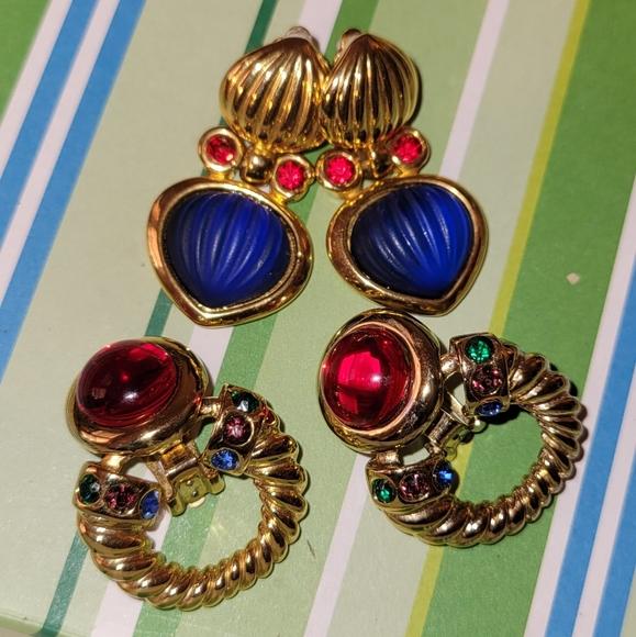 Vintage Clipon Earrings